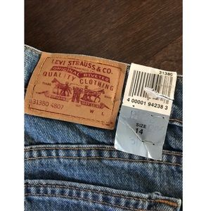 Levi's denim jeans pants new with tags