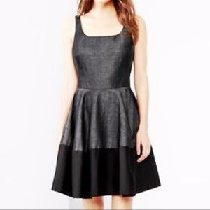 Gap Gray & Black Colorblock Ballet Tank Dress 12T