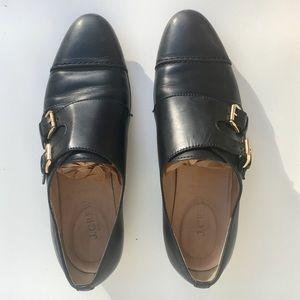 jcrew monk strap loafer