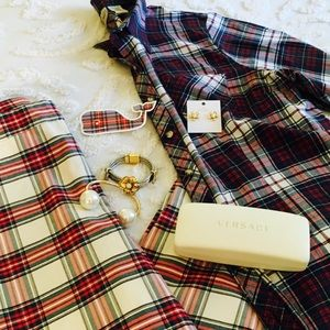 Plaid Tartan Oxford Shirt