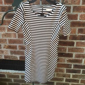 🌻LUSH Black and White Stripe Dress MEDIUM