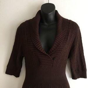 *BCBG* Figure Flattering Sweater Dress