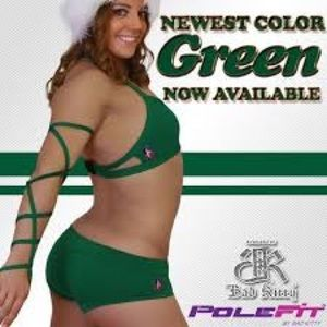 Bad Kitty PoleFit Green set