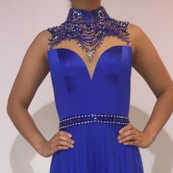 Sherri Hill Dresses - Sherri Hill Gown Royal blue size 0