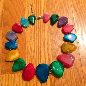 Colorful Stone Necklace!!!