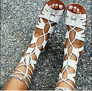 Free People gladiator sandals NWT