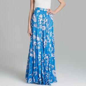 NWT ALICE+OLVIA Louie Godet Floral PrintMaxi Skirt