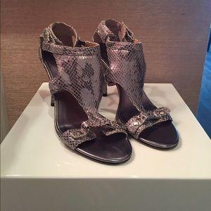 MICHAEL-Michael Kors snake skin heels