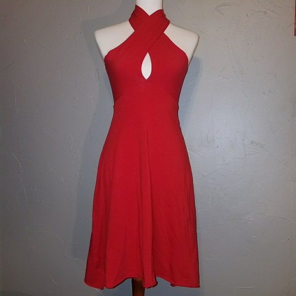 2175a1924f American Apparel Dresses   Skirts - Red American Apparel Bandeau Multiway  Dress