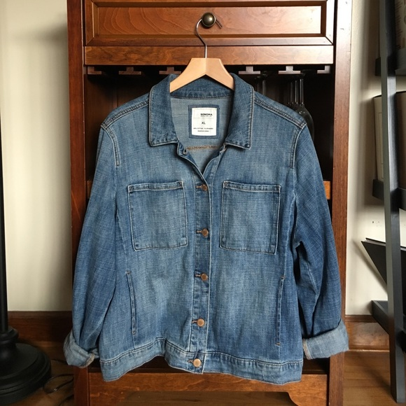 039a153d675 Sonoma super soft denim jean jacket. M 59c6525a9c6fcf2be00671d6