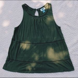 Olive Old Navy Casual Tank