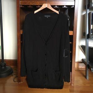 //NEW// Eloquii black boyfriend cardigan sweater