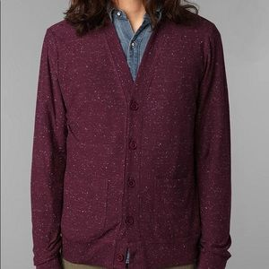 [Urban Outfitters] Purple Funfetti Cardigan