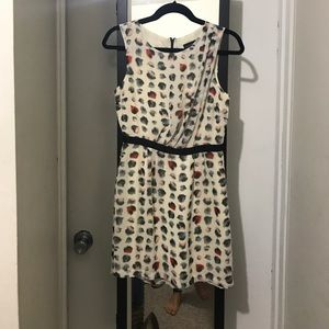 Topshop polkadot dress