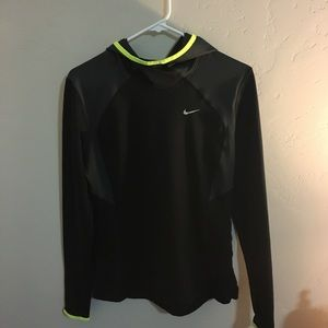 Black Nike hoodie (size medium)