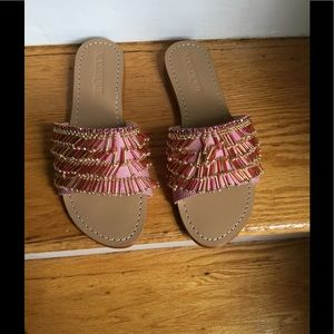 Pink Mystique sandals NWT