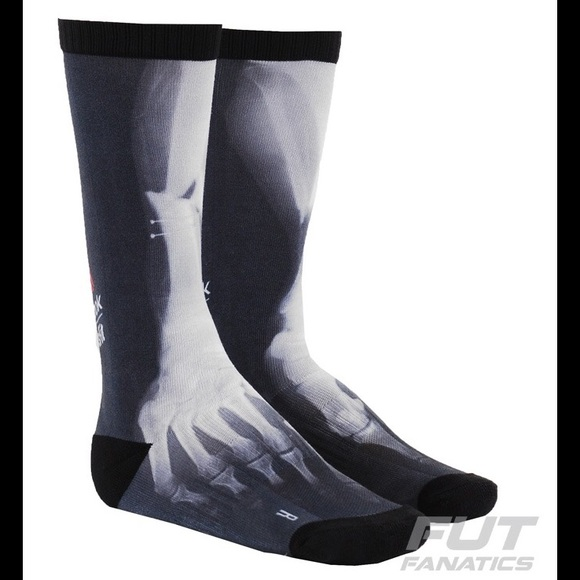 3f0597603 Reebok CrossFit Knee High X-Ray Skeleton Socks 💀