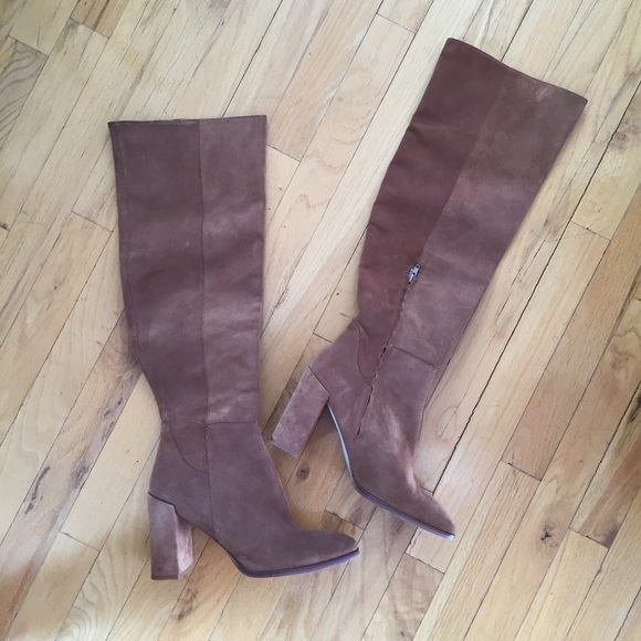 Zara Shoes - SUEDE BROWN ZARA BOOTS SIZE 41 fits more like a 10