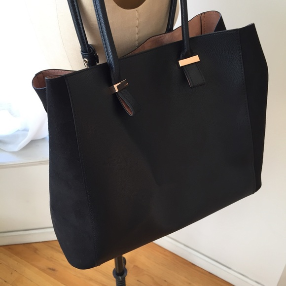 Bags - BRAND NEW TWO TONE H&M BAG