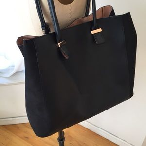 Handbags - BRAND NEW TWO TONE H&M BAG