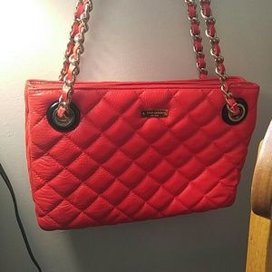 Kate Spade Quilted Bag Red/Orange