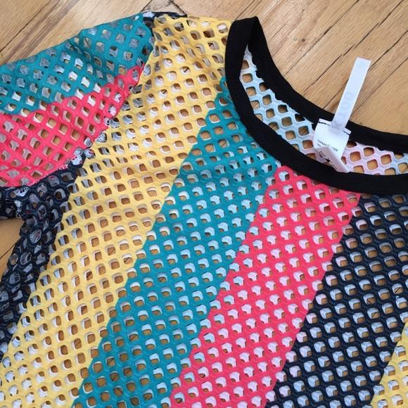Dresses - Colorful fishnet Dress Size Small/Medium NEW