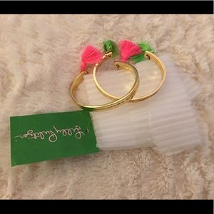 Lilly Pulitzer bangle bracelets!