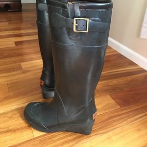 Michael Kors Rubber boots, with small heel