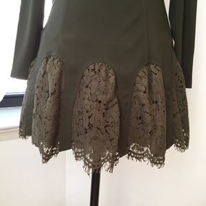 Asilio Dresses - Green Asilio Dress Size 6 Excellent Condition