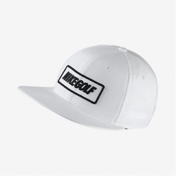 ef8664ff6 Nike Golf Unisex True Ox Cap White w Leather Strap NWT
