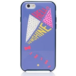 Hello Sunshine Kites + Sparkle iPhone Case