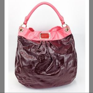 Marc by Marc Jacobs Classic Q Hiilier Patent Hobo