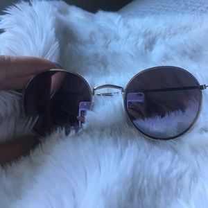 Round sunglasses from free people