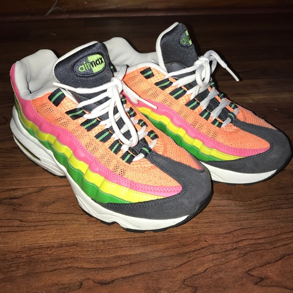 best loved 6195f 4781d Air Max '95 Yellow. Green. Orange. Pink.