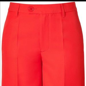 Marc by Marc Jacobs flame red shorts