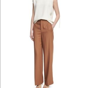 Helmut Lang NEW high-rise pants in wool twill