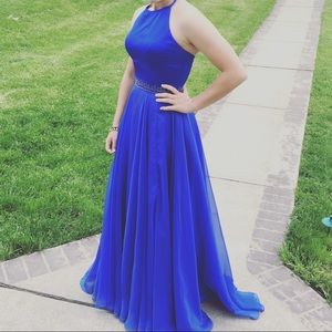 Sherry hill 2017 long prom dress size 5/6
