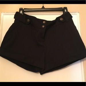 H&M Dressy Black Shorts -Size 6