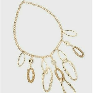 Jewelry - Chain Oval Statement Necklace