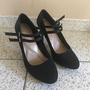 Style and Co pumps - two tone suede