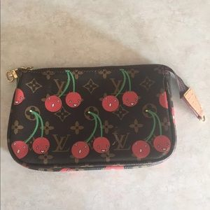 Louis Vuitton clutch purse