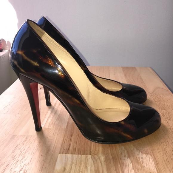 on sale ea604 4b7e5 Christian Louboutin RON RON 100 Glitter, Size 40