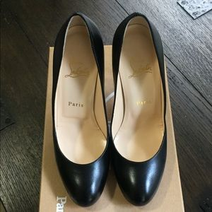 Christian Louboutin Simple Pump 100 Kid Leather