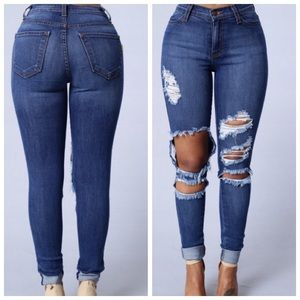 ▪️NWOT Fashion Nova Beach Bum Jeans