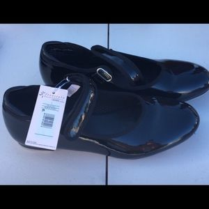 Other - Tap shoes black new never worn size 2