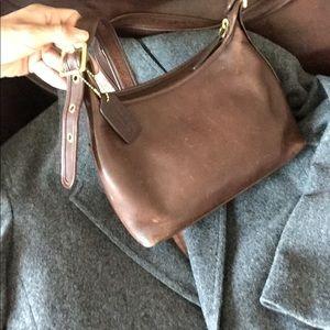 Vintage coach leather satchel
