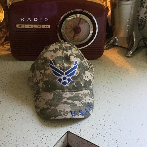 1984cbbc2f7 Air Force Accessories - 🆕 USAF Baseball Cap Hat ✈ 💙🛫👨🏼