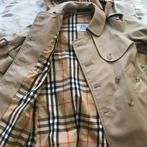 Toddler Burberry trench.