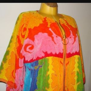 Other - Vintage terry cloth short robe