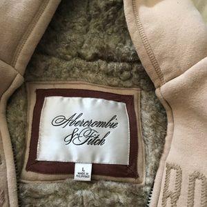 Fur lined Abercrombie&Finch Hoodie